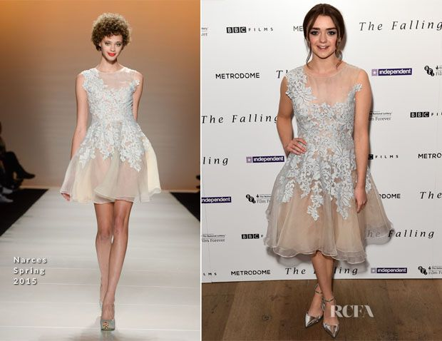 Maisie Williams In Narces – 'The Falling' Gala Screening