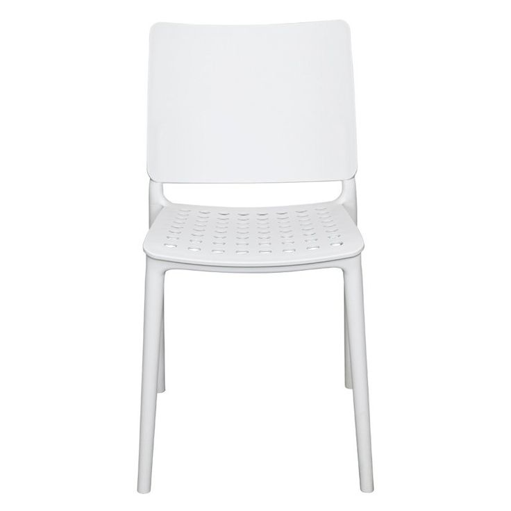 Outdoor Source Contract Marcay Patio Dining Side Chair - SC-2604-162-WHT