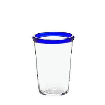 Blå Kant - Mjölk glas