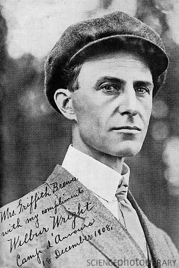 Wilbur Wright was born on April 16, 1867 near Hagerstown, Indiana. He was close friends with my husbands great great grand parents.