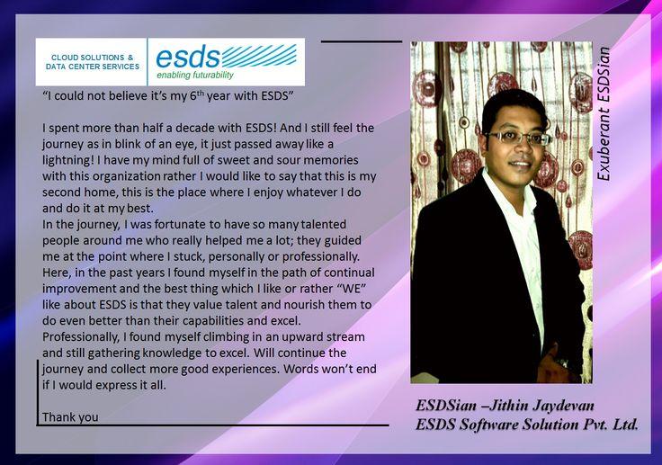 Meet Exuberant ESDSian – Jithin Jaydevan #Success #EmployeeSatisfaction #JobSatisfaction