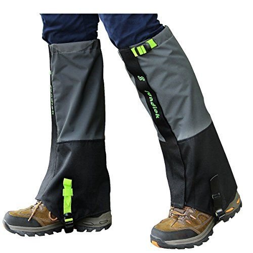 PAMASE Waterproof Hiking Gaiters for Men and Women, High Leg Gaiters for Snow Hunting - Gray L, Large   http://huntinggearsuperstore.com/product/pamase-waterproof-hiking-gaiters-for-men-and-women-high-leg-gaiters-for-snow-hunting/?attribute_pa_color=gray-l&attribute_pa_size=large