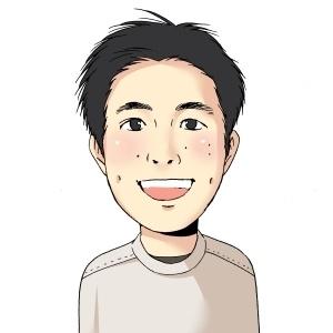 安村康平さんの似顔絵