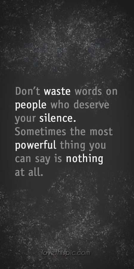They will feed off your words and despite your eloquence, they will twist it to their own agenda. -S
