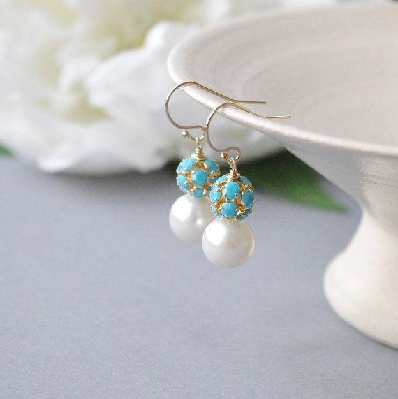 Swarovski Crystal Earrings Gold Filled Earrings by ...