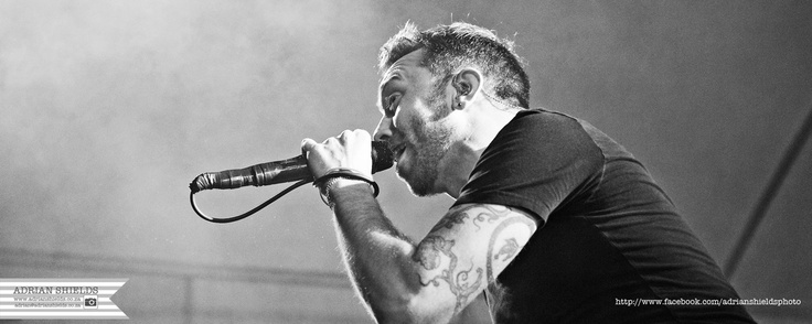 Images Copy Right Adrian Shields. Ramfest in South Africa featuring Rise Against. Photography and Images in Black & White :)