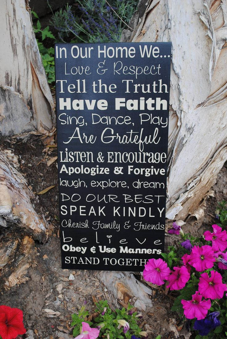 In memory of family wedding sign we know you by signstoliveby - Custom Family Rules Sign With Last Name 12x24 By Signstoliveby 49 95