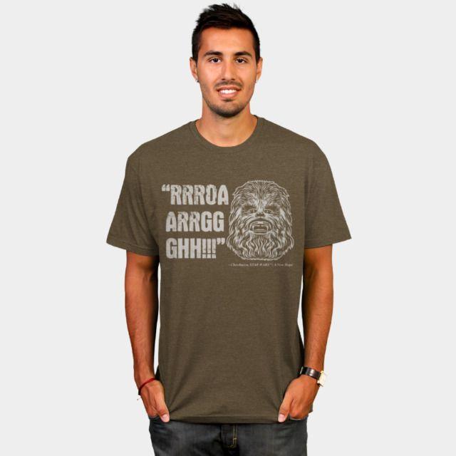 Chewbacca Quote T-Shirt - Star Wars T-Shirt