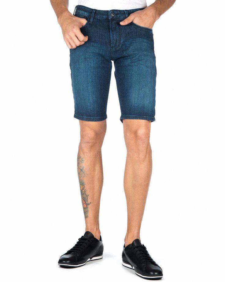 Pantalones Cortos Vaqueros EMPORIO ARMANI ® Azul Denim