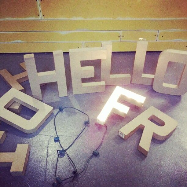 Oh Hello Friend You Are Loved Happy Friday Hobby Lobby Letters Diy Light Up Letters