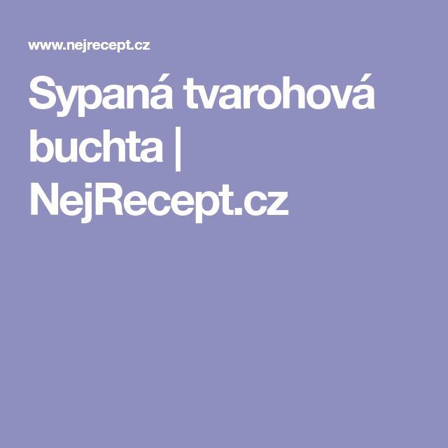 Sypaná tvarohová buchta | NejRecept.cz