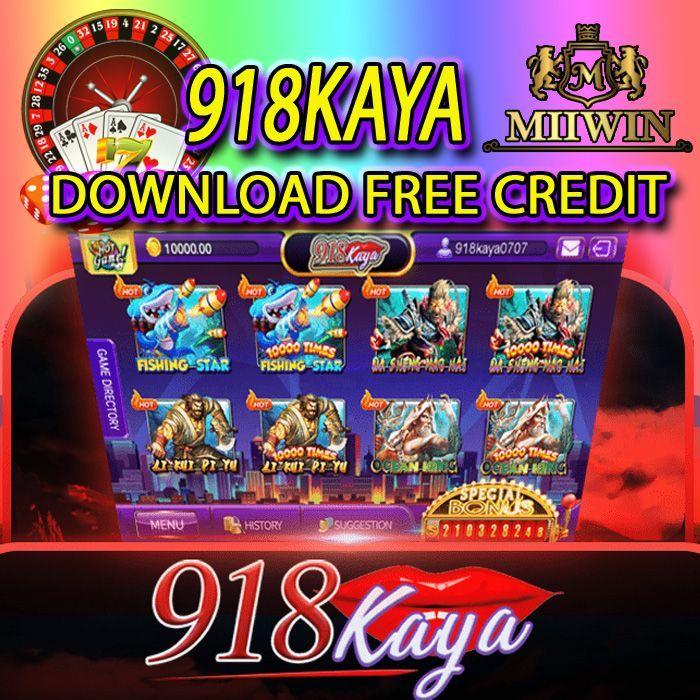 918KAYA Download Free Credit in 2020 | Free casino slot ...