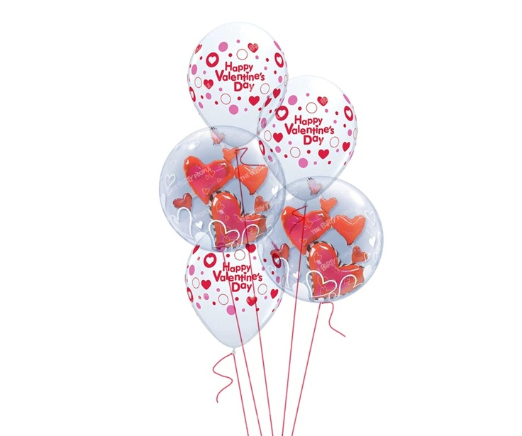 Bouquet, Valentine's - Floating Love, Inflated