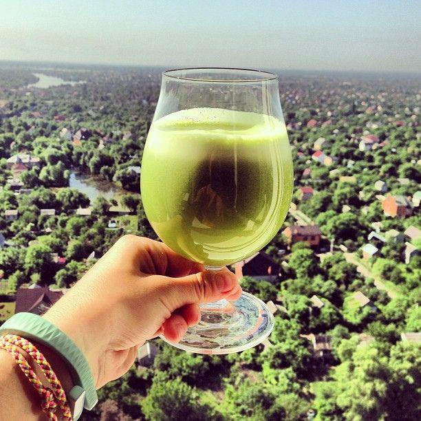 Свежевыжатые зеленые соки