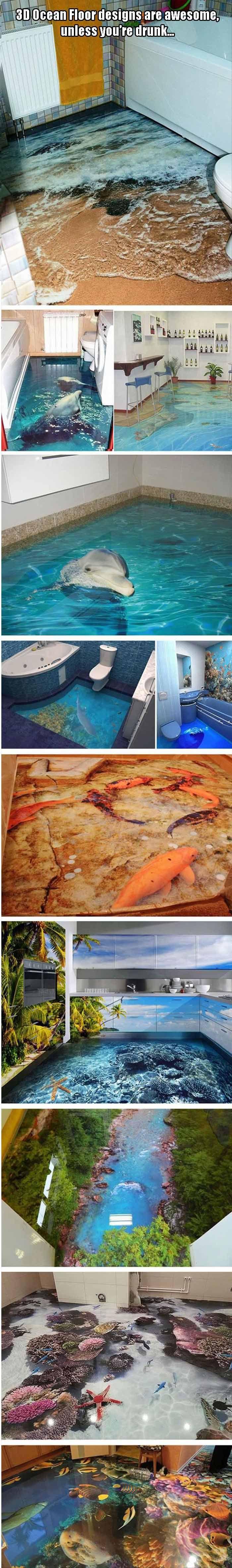 25 best ideas about ocean bathroom on pinterest sea for Awesome bathroom 3d floor designs
