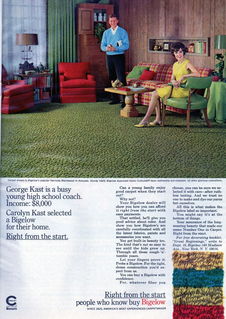 17 Best Images About Vintage Bigelow Carpet Ads On