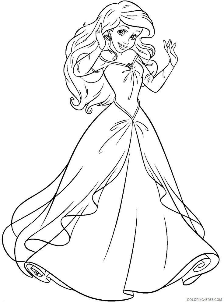 Free Little Mermaid Coloring Pages Little Mermaid Coloring Pages Princess Ariel Colori In 2020 Ariel Coloring Pages Disney Princess Coloring Pages Belle Coloring Pages