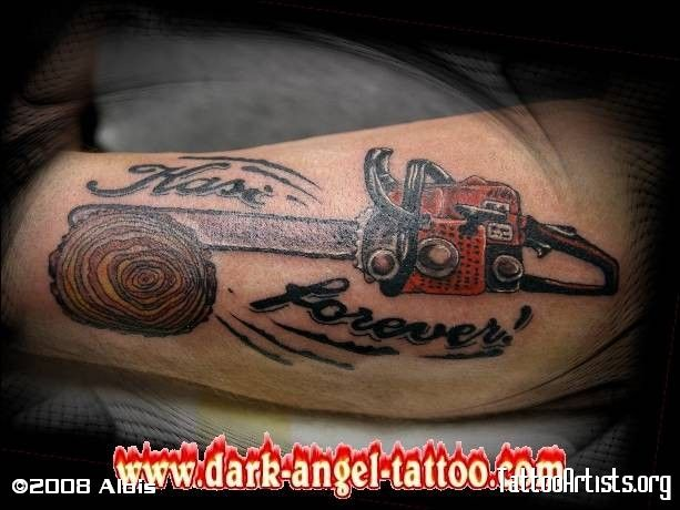chainsaw tattoo - Bing Images | Ink | Pinterest | The o ...