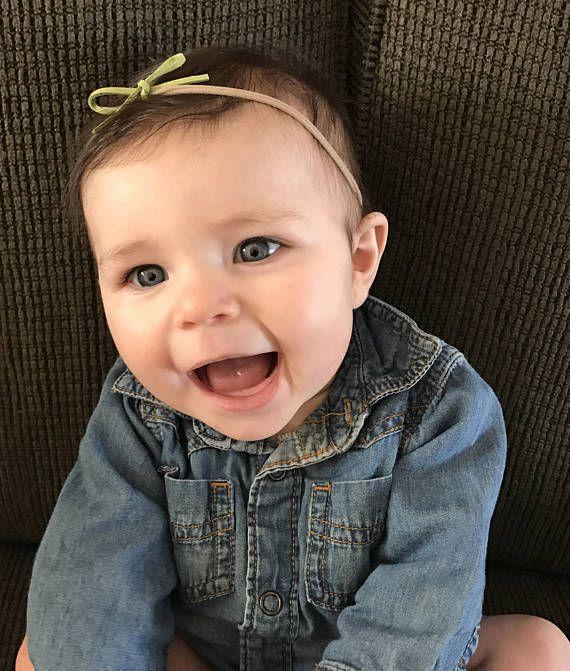 Nylon Headband / Baby Bows Baby Headbands Small / Set Of 4