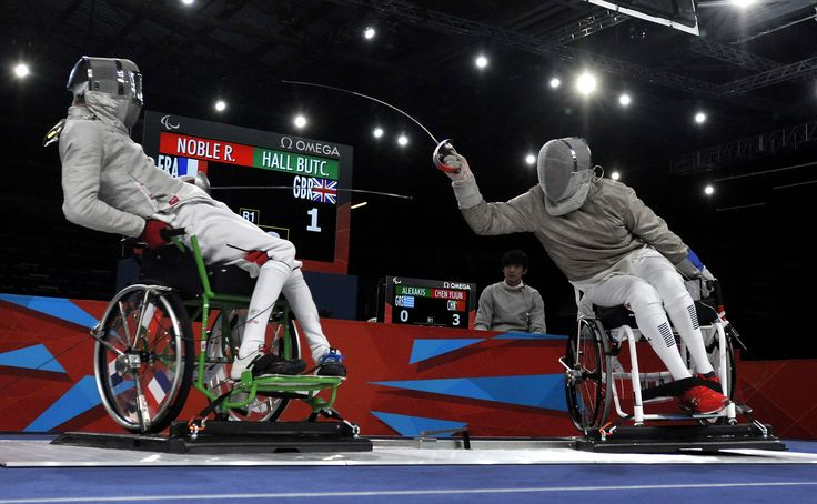 06/09/2012: It was a promising performance from GB's young fencer Tom Hall-Butcher.