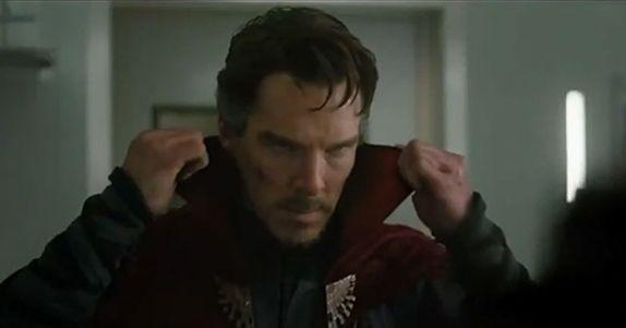 DOCTOR STRANGE il mantello sempre più scatenato nel nuovo spot del film