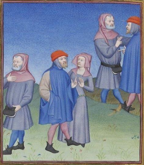 Publius Terencius Afer, Comoediae [comédies de Térence] ca. 1411;  Bibliothèque de l'Arsenal, Ms-664 réserve, 118v