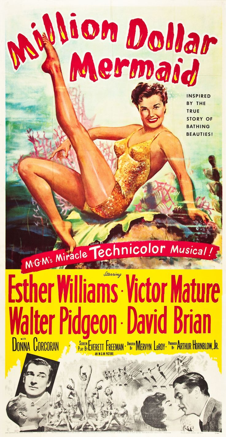 Million Dollar Mermaid (1952) Esther Williams