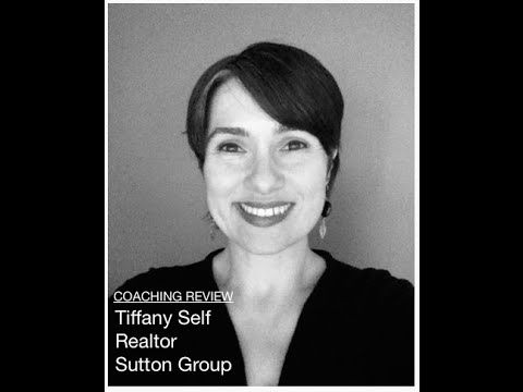I know that Tiffany is well on her way to becoming a top producing real estate agent.  Of that I have no doubt... he most successful real estate agents tend to have coaches that support them along the way.  Way to go, Tiffany!  All (Top Producing/Successful Realtors) have coaches - review