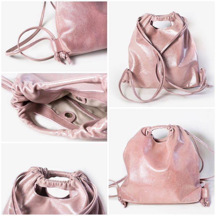 """Saint-Tropez"" leather backpack"