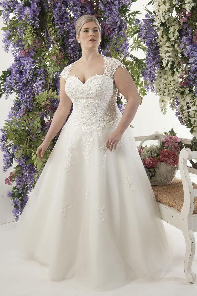 vestido de noiva plus size romantico colecao callista-Venice