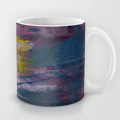 colors of the week - friday Mug by Helle Pollas - $15.00