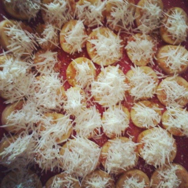Potatoes with Pecorino cheese