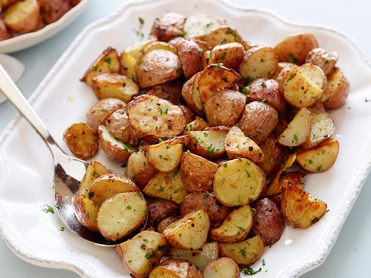 Garlic Roasted Potatoes Recipe : Ina Garten : Food Network - FoodNetwork.com