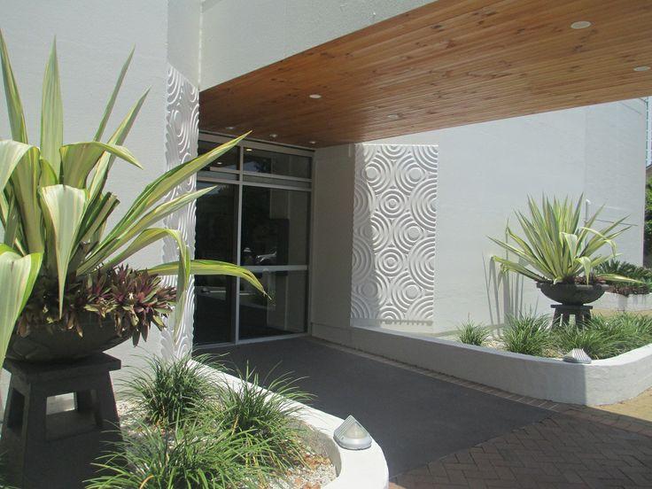 Seaside resort exterior