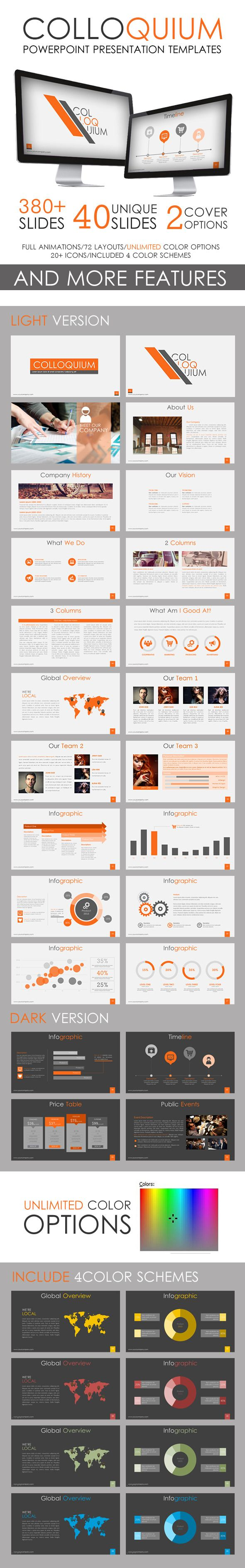 Colloquium PowerPoint Template #powerpoint #powerpointtemplate Download: http://graphicriver.net/item/colloquium-powerpoint-template/10330917?ref=ksioks