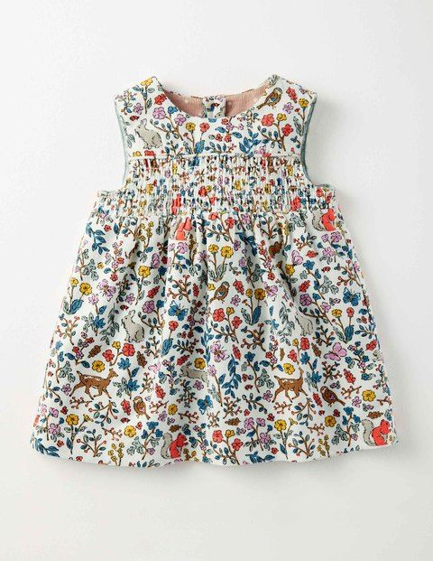 Nostalgic Cord Pinafore Dress | Boden