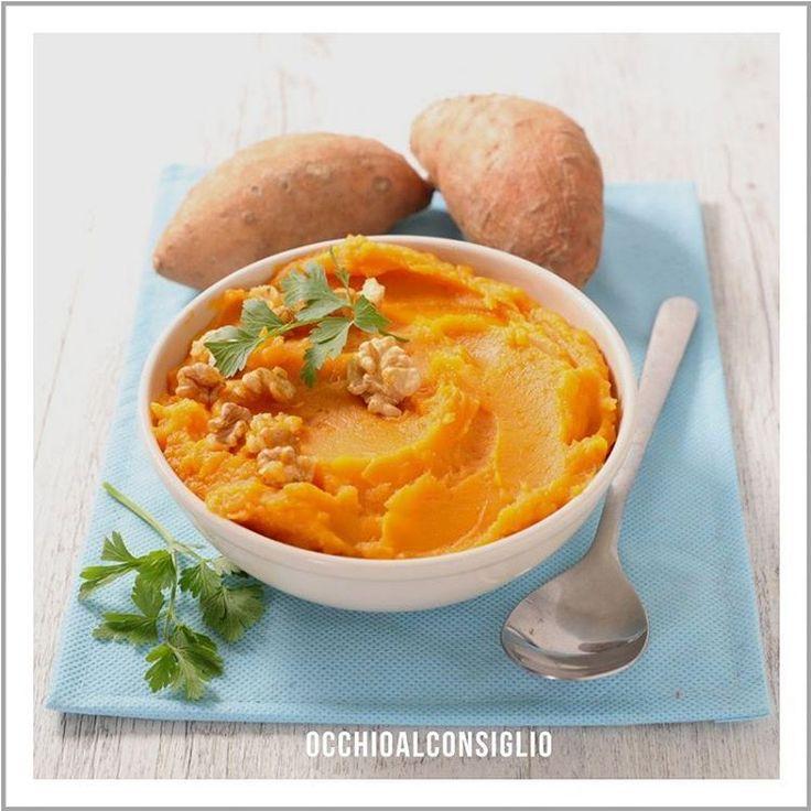 Le patate dolci contengono, come le carote, beta carotene in elevate quantita'.  Utilizzale per preparare deliziosi pure' oppure trasformale in una gustosa salsa guacamole.    I tuoi occhi ti ringrazieranno!    #occhioalconsiglio #eyewear #eyeglasses #like4like #picoftheday #photooftheday #occhialidavista #sunglasses #occhalidasole #healthyfood #wellness #like4like #betacarotene