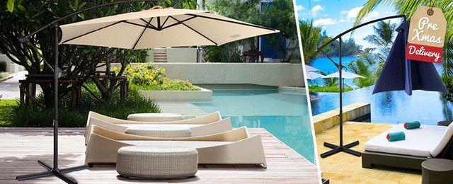 Milano 3 Metre Outdoor Umbrella Deals & Discounts. Unbeatable Daily Deals on Deals.