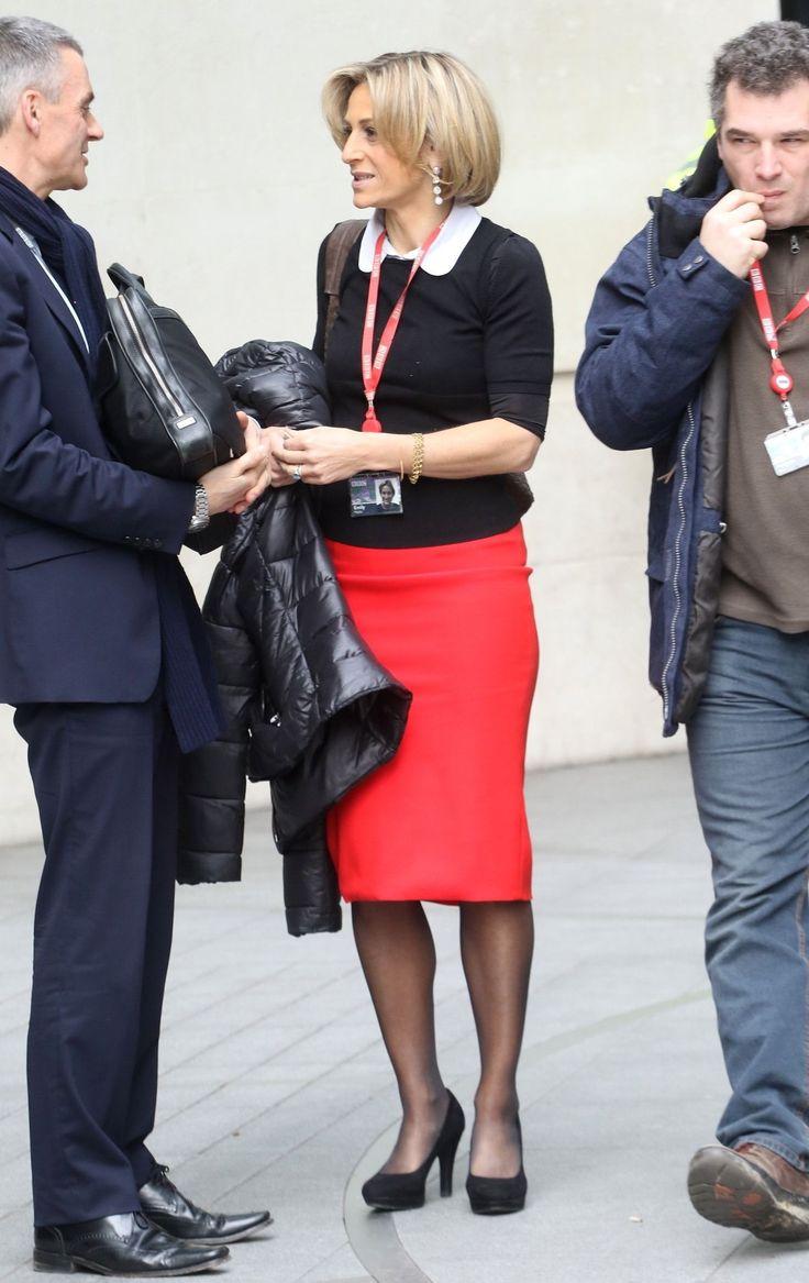 Emily Maitlis – BBC TV Centre London 30.03.15