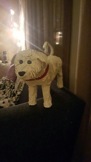 Surprise hond made by Kimberly