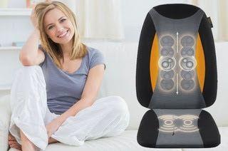 ΠΑΡΤΟ ΛΙΓΟ ΑΛΛΙΩΣ  : Κάθισμα Μασάζ Shiatsu RBI με Δόνηση & Θερμότητα (α...