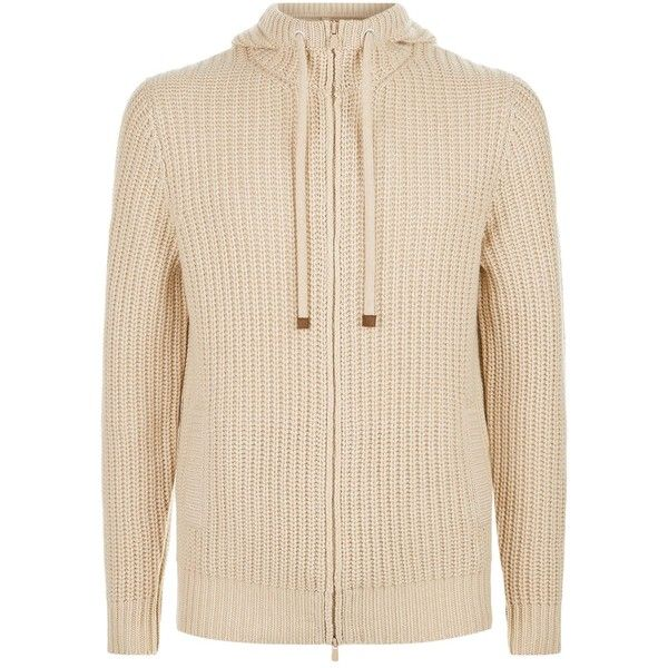 Brunello Cucinelli Zip Front Hooded Cashmere Cardigan ($3,120) ❤ liked on Polyvore featuring men's fashion, men's clothing, men's sweaters, mens hooded cardigan sweater, mens zip cardigan sweater, mens button down cardigan sweaters, mens cashmere hooded sweater and mens hooded sweater