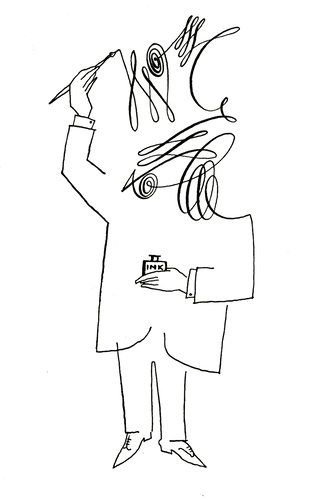 Saul Steinberg. 1954
