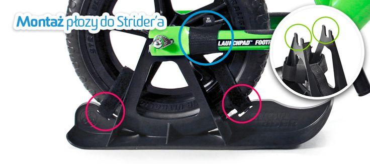 Kompatybilność płozy Strider'a z innymi rowerkami biegowymi... przeczytaj na blogu AktywnegoSmyka