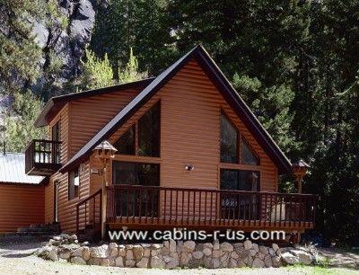 Log Cabin Vinyl Siding House And Home Pinterest
