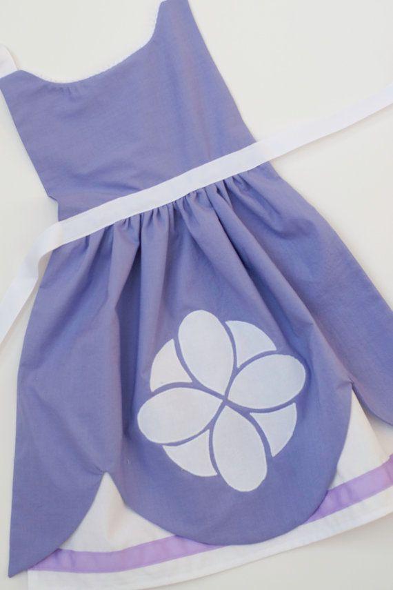 Sofía la primera Princesa Sofia vestir delantal para niños y niñas