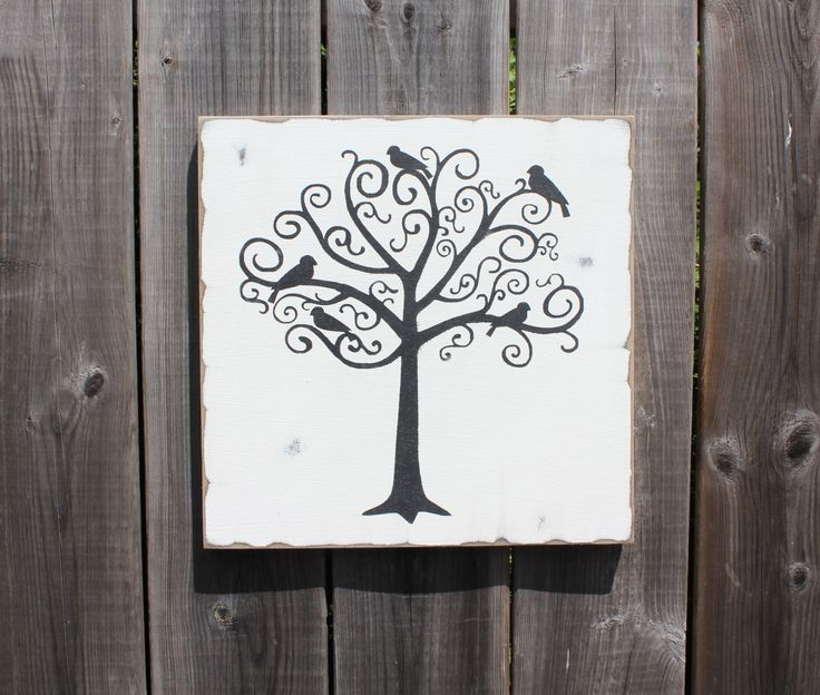 Family Tree made by The Primitive Shed, St. Catharines