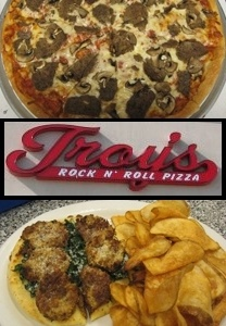Troy's Rock N' Roll Pizza in Waterford, CT 06385 | Get $20 (Two $10 Vouchers) of Hot Out of the Oven Pizza & More for $10 at Troy's Rock N' Roll Pizza! | ReferLocal