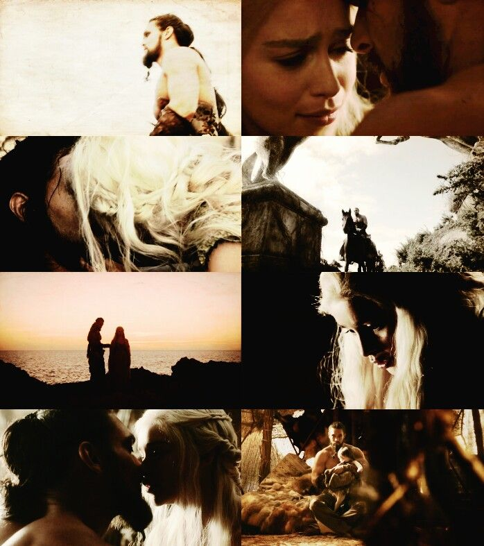 Khal Drogo & Khaleesi ~ greatest lovestory ever ♥♥♥