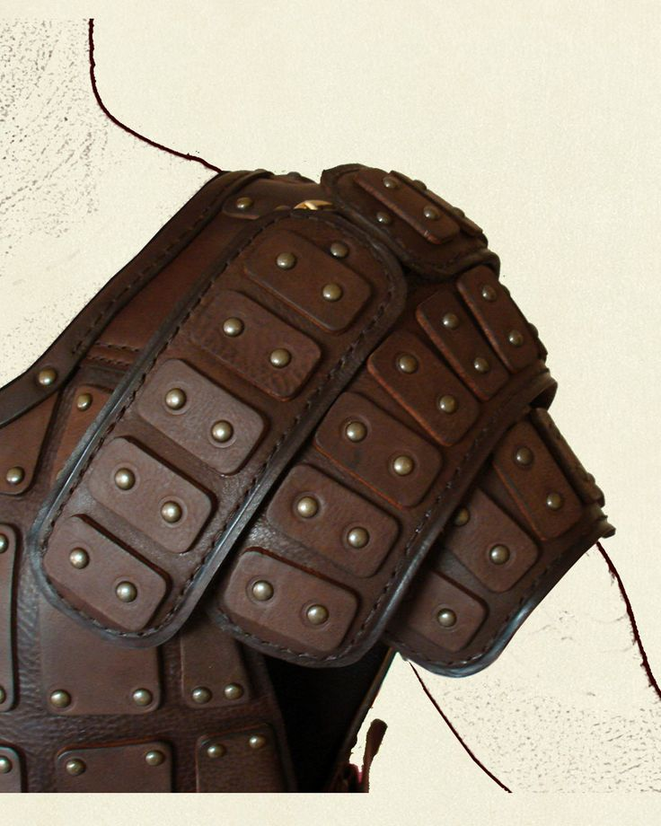 Plated leather
